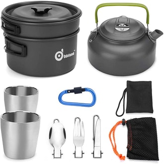 Odoland Camping Cookware (10 Pieces)