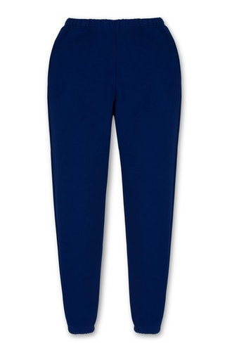 Electric Blue heavyweight classic sweatpant from Les Tien.