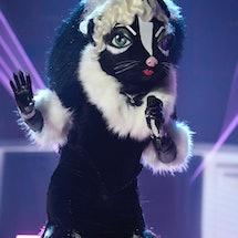 Skunk performs on 'Masked Singer' Season 6.
