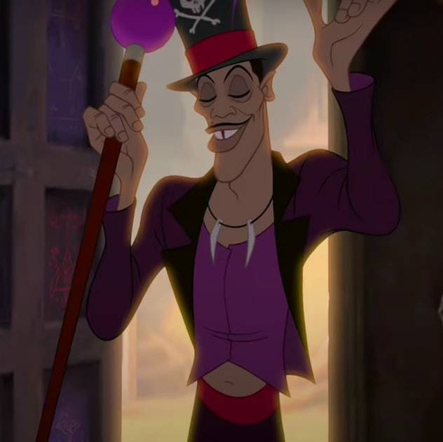 """Still of Dr. Facilier from """"The Princess and the Frog"""""""