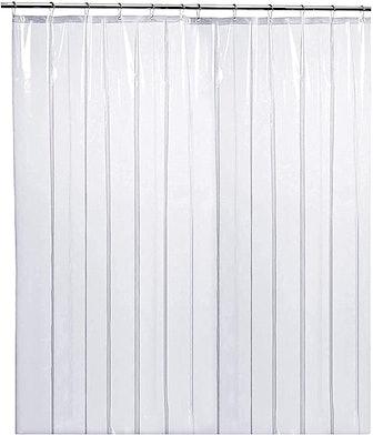 LiBa Soap Scum-Resistant Shower Curtain Liner