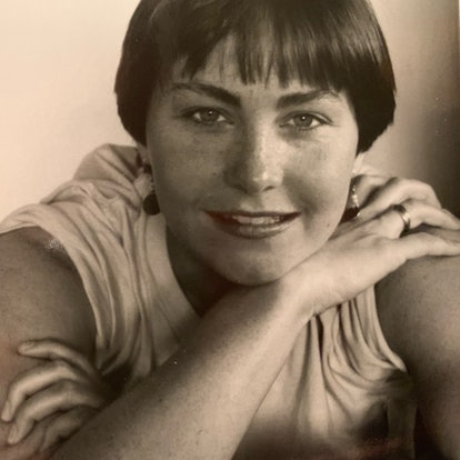 Cherry Jones as a 28-year-old.