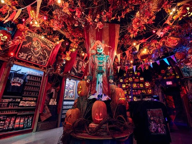 You can visit the Tribute Store at Universal Studios' Halloween Horror Nights for 2021's merch.