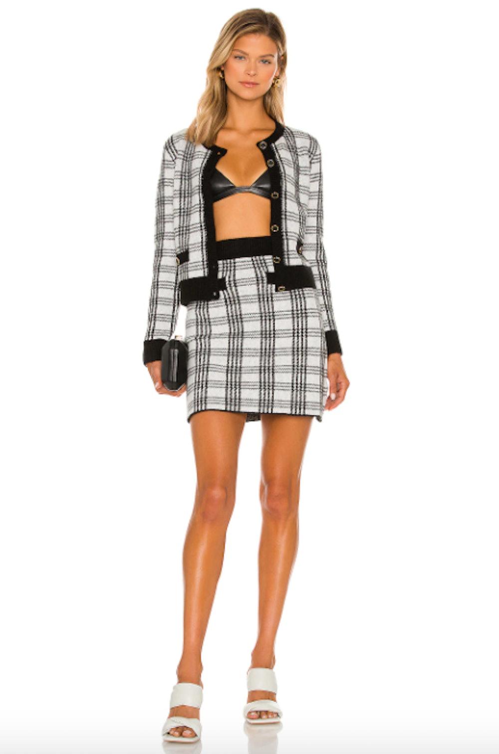 Saylor Bethanie Top & Skirt Set