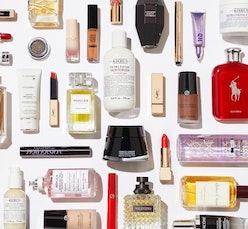 L'Oreal USA products flatlay
