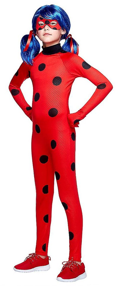 This girls ladybug costume is a TV Halloween costume from Miraculous: Tales of Ladybug & Cat Noir.