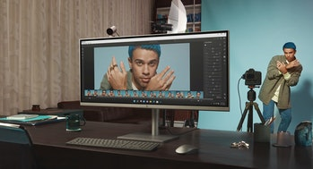 HP Envy 34-inch All-in-one desktop PC for video editing