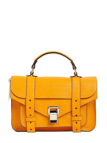 PS1 Tiny Lux Leather Top Handle Bag