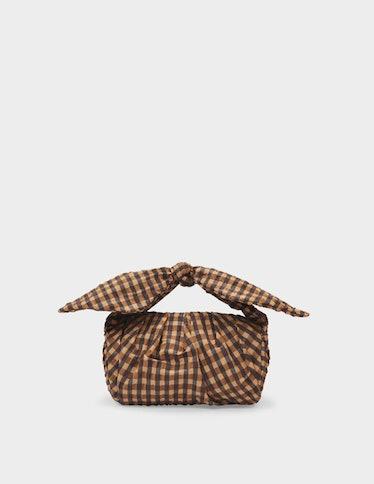 Nane Bag Italian Check Brown