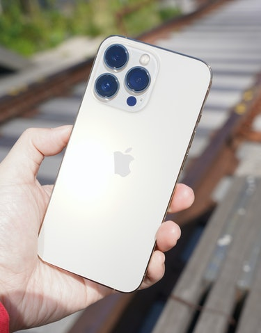 The iPhone 13 Pro sticks with 12-megapixel sensors for its three camera lenses.