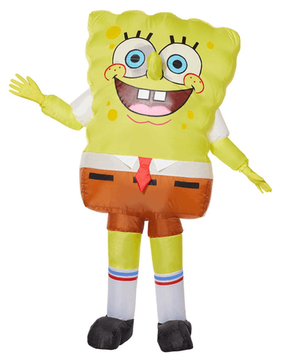 This inflatable SpongeBob costume for kids is one TV Halloween costume for girls.
