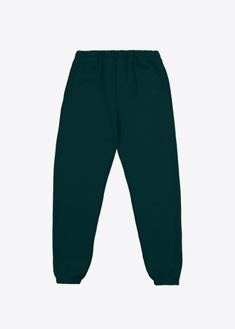 Heavyweight Classic Sweatpant in Emerald from Les Tien.
