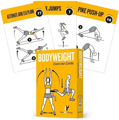 NewMe Fitness Workout Cards