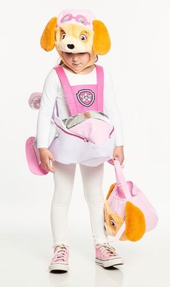Skye from 'Paw Patrol' is just one TV character Halloween costume choice for girls.