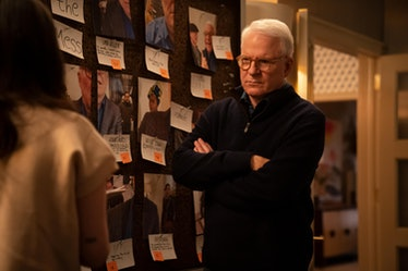 Charles (Steve Martin) considers a new prime suspect in Only Murders In The Building
