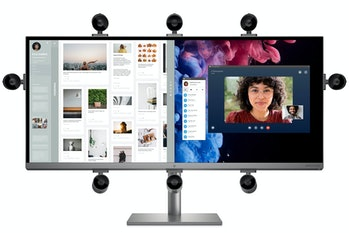 HP Envy 34-inch All-in-one with adjustable webcam