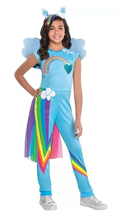 Child Rainbow Dash Jumpsuit Costume