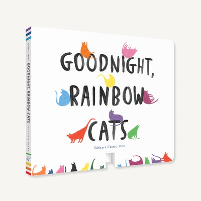 'Goodnight Rainbow Cats' written and illustrated by Bàrbara Castro Urío
