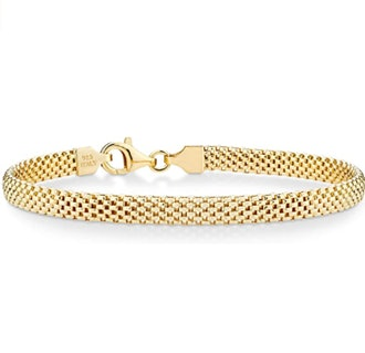 Miabella Gold Chain Bracelet