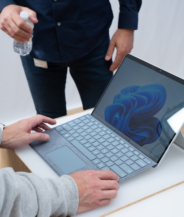 An image of the Surface Pro 8