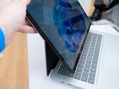 Surface Laptop Studio hinge.