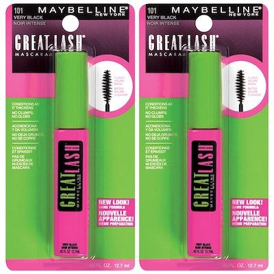 Maybelline New York Washable Mascara (2-Pack)
