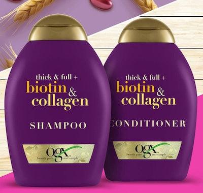 OGX Biotin & Collagen Shampoo & Conditioner Set
