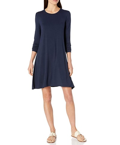 Amazon Essentials Long-Sleeve Swing Dress