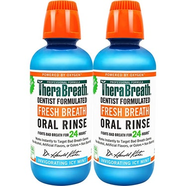 TheraBreath Fresh Breath Dentist Formulated 24-Hour Oral Rinse (2-Pack)