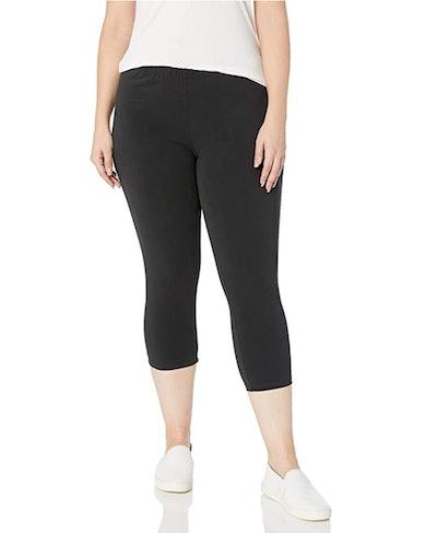 Just My Size Plus Size Stretch Jersey Capri Legging
