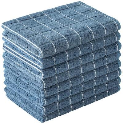 Hyer Kitchen Microfiber Dish Towels (8-Pack)