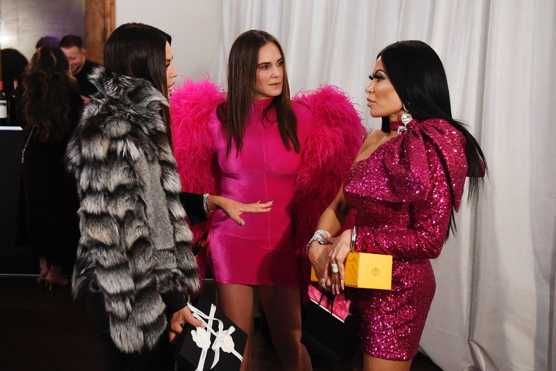 Lisa Barlow, Meredith Marks, and Jen Shah in 'The Real Housewives of Salt Lake City' Season 1 via B...