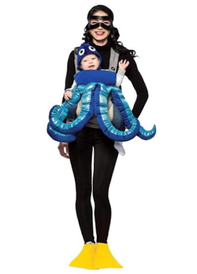 Baby & Me Diver & Octopus