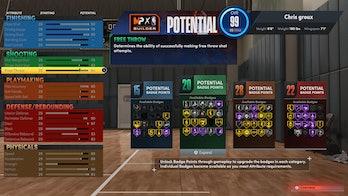 nba 2k22 best point guard build