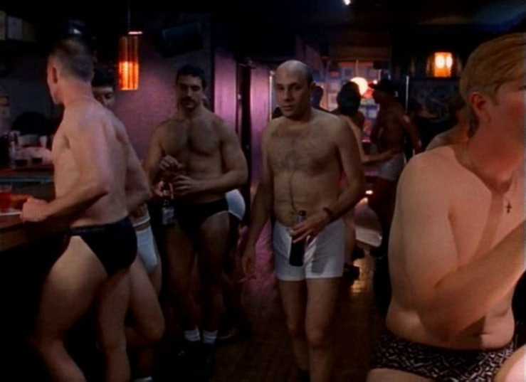 Stanford Blatch at the gay after hours club.