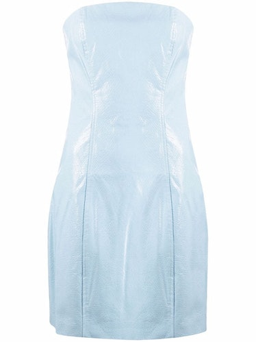 Herla cold-shoulder dress from ROTATE, available to shop via Farfetch.