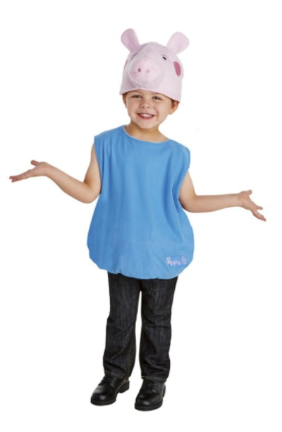 George from Peppa Pig costume for toddlers