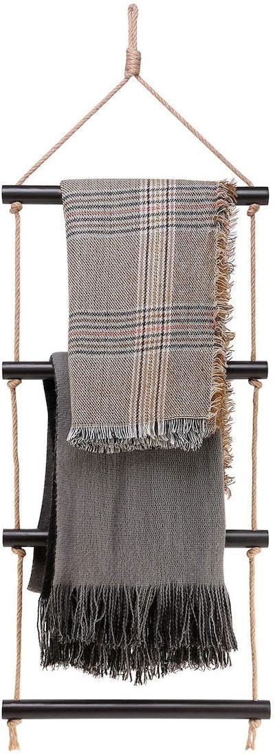 Dahey Blanket Ladder Bath Towel Rack