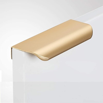 Modern Style Finger Edge Pull Furniture Handle (10-Pack)