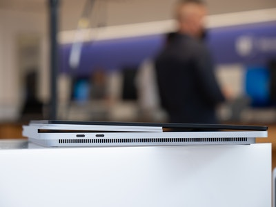 Surface Laptop Studio USB-C Thunderbolt 4 ports.