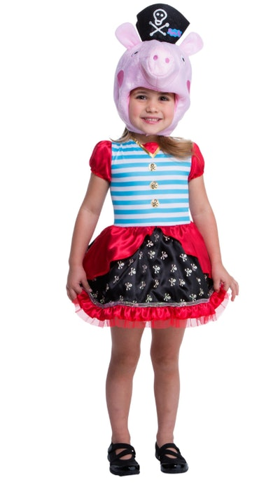 Peppa Pig pirate costume for toddlers