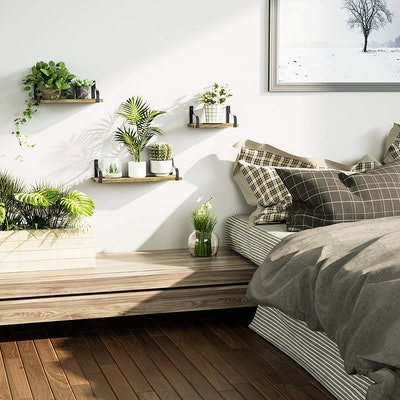 Love-KANKEI Wall Mounted Floating Shelves (Set of 3)
