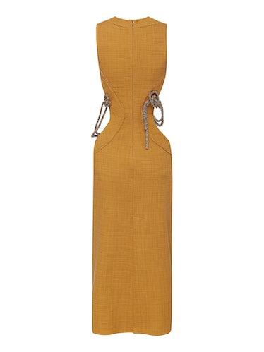 Crystal Knot Cutout Dress