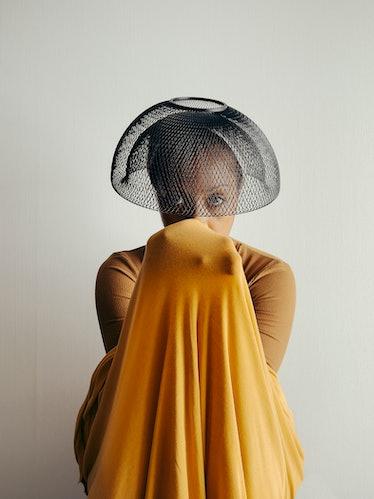A work by Djeneba Aduayom