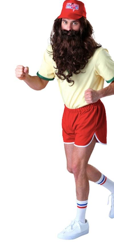 Man dressed as Forrest Gump