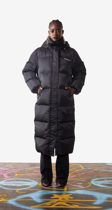 Black Epuff Long Jacket