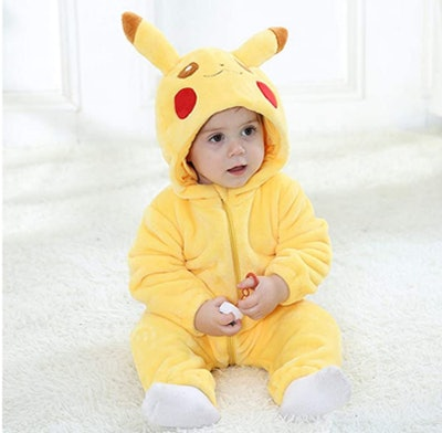 Baby Pikachu Hooded Jumpsuit