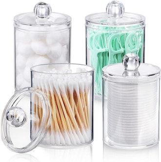 AOZITA Apothecary Jar (4-Pack)
