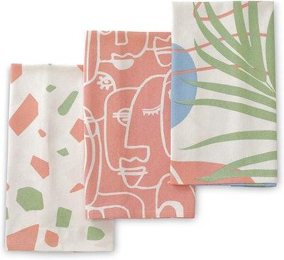 Folkulture Kitchen Towels (Set of 3)