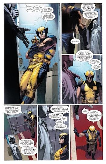 Wolverine Uncanny X-Force